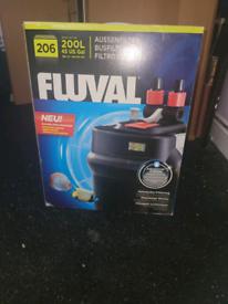 Fluval 206 external filter (200L)