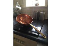 Copper Pan + Ladle