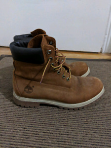Timberland Rust Nubuck Leather Boots
