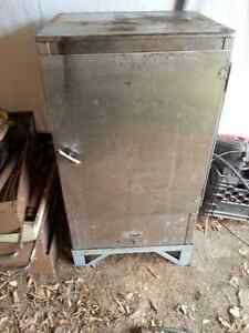 Welding Rod Storage Cabinet –Stainless, Heated