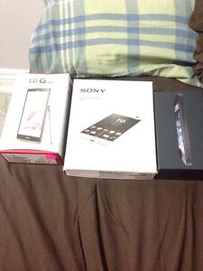 SELLING 3 phones. Lg stylo. iPhone 5c. Sony experia C5
