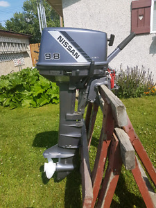 1998 Nissan 9.8 HP long shaft outboard