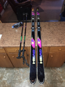 """7"" Piece Downhill Ski Package"