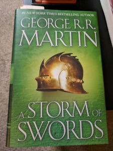 Game of thrones - storm of swords HARDCOVER