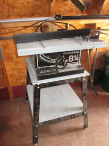 DELTA PRO TABLE SAW AND STAND