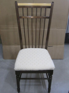 DININGROOM CHAIRS 6 EACH 2 TONE COLOR OR KITCHEN CHAIRS
