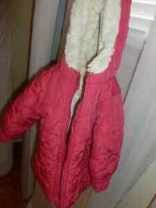 Pink Old Navy girl's winter coat/jacket- size 12-18 months