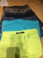 6 pairs of girls size 6/7 shorts