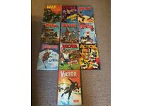 Job lot of Victor, Action and War Picture Library annuals