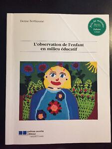 livres techniques d'education a l'enfance