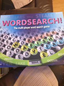 Wordsearch ....new... board game