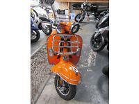 AJS Modena 125cc. Scooter. Mod. 2014 Vespa Look a Like.