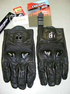 4XL Short Cuff Gloves - ICON Justice at RE-GEAR