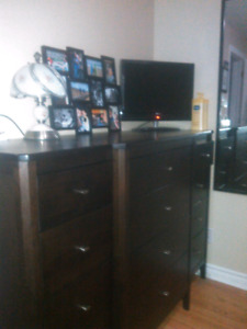 Solid wood 12 drawer dresser