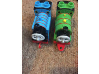 Mega bloks Thomas and Percy trains