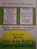 Buzz Cuts Lawn Care And More