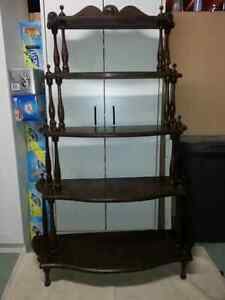Vintage shelf unit