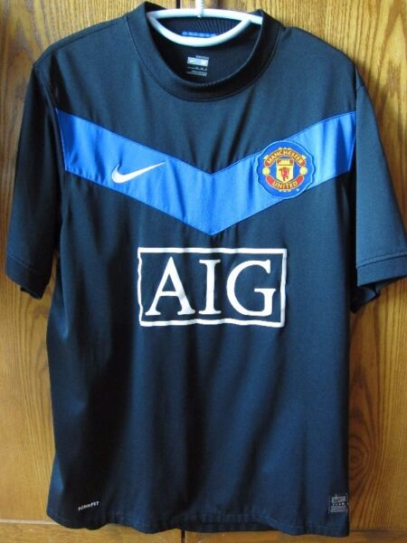 Nike FitDry Manchester United AIG Soccer Jersey