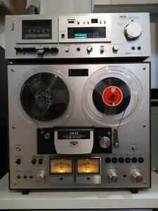 AKAI GX-270D Reel to Reel and GX-M10 cassette deck