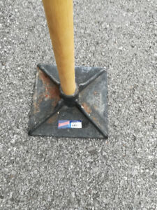 A Tamper for Landscaping patio area (10 x 10 inch)