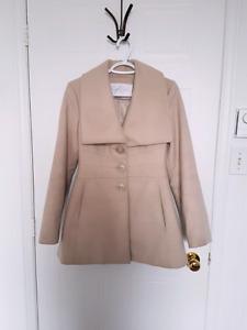 Jessica Simpson Beige Pea coat