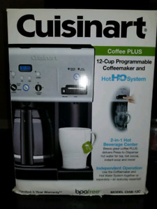 Cafetiere cuisinart HotH2O system