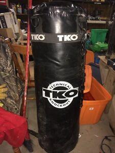 Tko punching bag $75