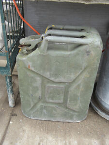 Vintage Gas Cans $20.00 each