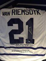 James Van Riemsdyk Autographed Jersey