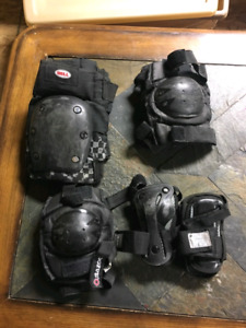 Youth wrist guards, knee pads, elbow pads