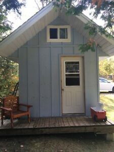 Storage/Bunkie with loft