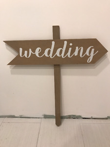 Wedding decor - Gold, White and Navy items