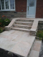 Skilled STONE MASON Available Quality Installations & Repairs