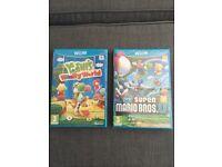 Two NEW sealed Yoshi & Super Mario Wii U games