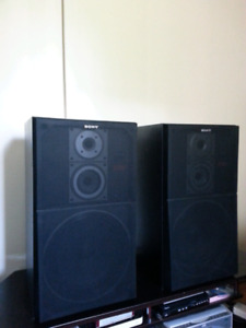 Sony Audio Speakers SS-C50   3-Way 8-Ohm  120W Max