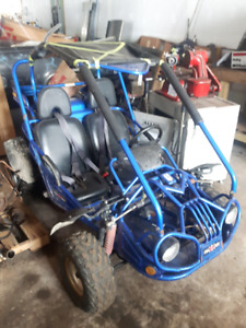2 dune buggies/carts for sale one runs great