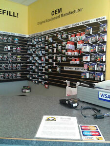 Well Established Inkjet Refill/Ink and Toner Retail Business