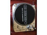 2x DJ turntable record players Homemix TT500