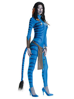 Neytiri Avatar Ladies Fancy Dress Movie Party Halloween Adult Costume UK 6-14 BN