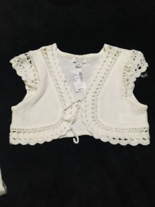 Girls bolero - great for holidays - new with tag
