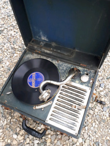 Crank Phonograph  ( Record player) $100