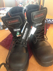 NEW PAIR OF WORK BOOTS JB GOODHUE BIOTECH WATERPROOF  PRICE $140 St. John's Newfoundland image 4