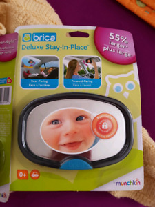 Brica stay in place mirrors (2 of them)