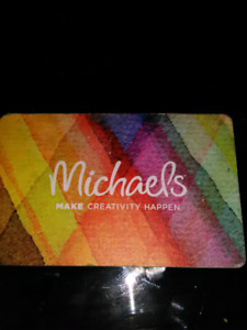 Michaels 50 gift card for 30