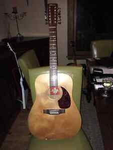 70's Norman 12 String Acoustic guitar with case Canadian nice
