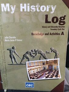 My History Log, knowledge and activities A