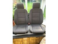BMW E36 grey cloth seats