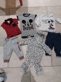 3 - 6 month Mickey Mouse clothes bundle