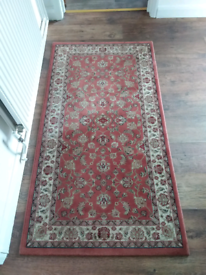 Traditional antique rug