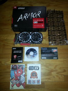 AMD Radeon RX 570 - Cryptocurrency mining video card